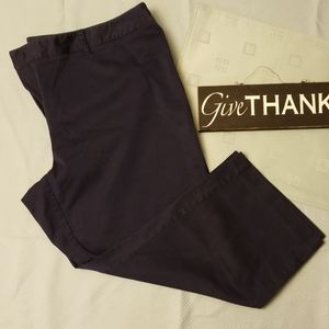 Charter Club Dark Blue Capris